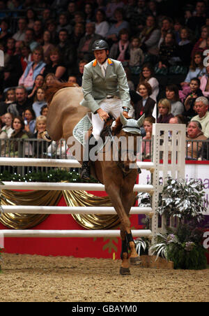 Equestrian - London International Horse Show - Day Three - Olympia - Stock Photo