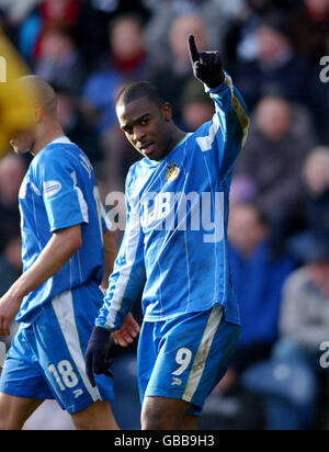 Soccer - Nationwide League Division One - Preston North End v Wigan Athletic - Stock Photo