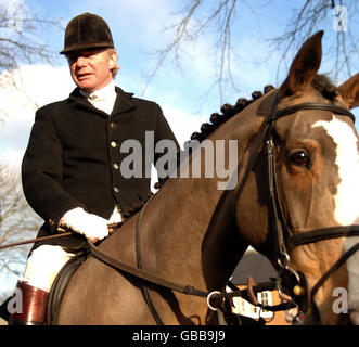Boxing Day hunt - Stock Photo