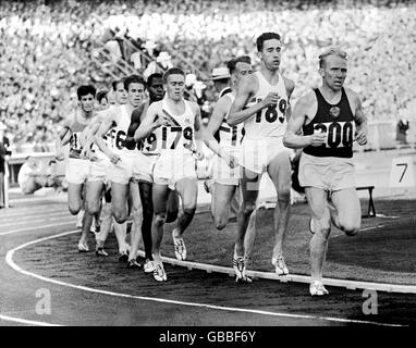 Athletics Melbourne Olympic Games 1956 Men S 5000m