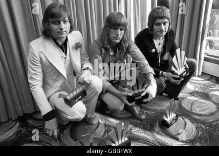Music - Emerson, Lake and Palmer - 1972 - Stock Photo