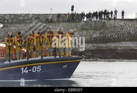 RNLI Memorial - Stock Photo