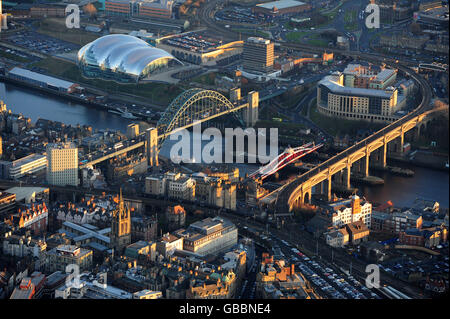 North East of England stock - Stock Photo
