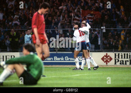 Soccer - World Cup Qualifier - Group Two - England v Albania - Stock Photo