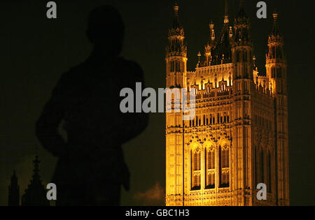 London at night - Stock Photo