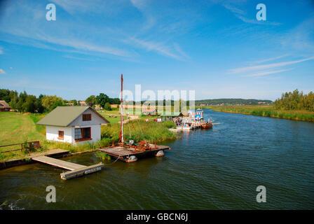 Sommer, Klein Zicker, Marschland, Ostsee, Insel Ruegen, Mecklenburg-Vorpommern, Deutschland - Stock Photo