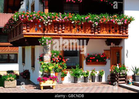 Blumenschmuck balkon