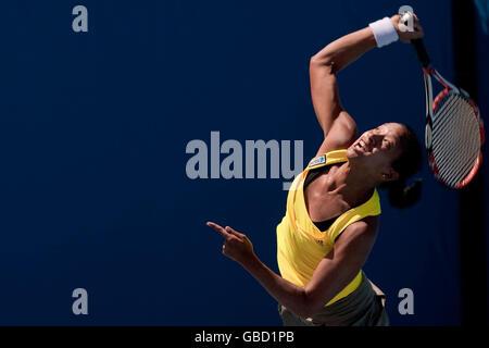 Tennis - Australian Open 2009 - Day Five - Melbourne Park - Stock Photo