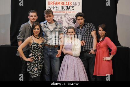 Dreamboats and Petticoats Photocall - London - Stock Photo