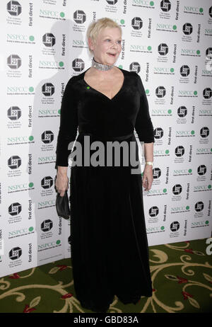Dame Judi Dench arriving for The London Critics' Circle Film Awards, at Grosvenor House Hotel in central London. - Stock Photo