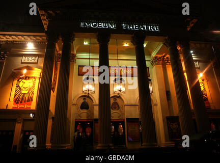 Theatre - The Lyceum - London - Stock Photo