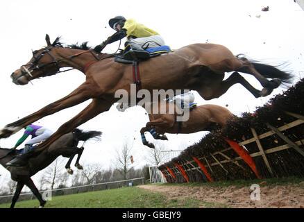 Horse Racing - Fakenham Racecourse - Stock Photo