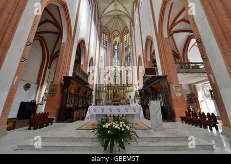 Elisabethkirche, Breslau, Niederschlesien, Polen - Stock Photo