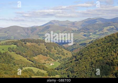 Mountains, Pyrenees, Navarra, Spain - Stock Photo