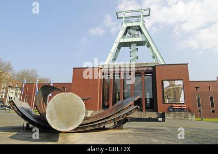 German Mining Museum, Bochum, North Rhine-Westphalia, Germany - Stock Photo