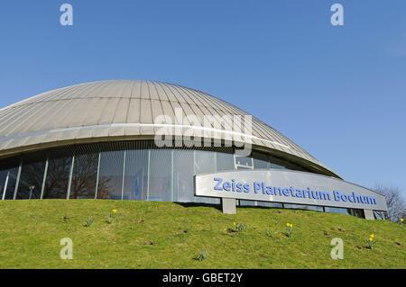 Zeiss Planetarium, Bochum, North Rhine-Westphalia, Germany - Stock Photo