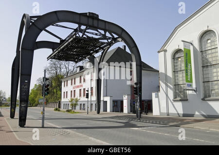 Former zinc factory Altenberg, LVR, Rhineland Industrial Museum, Oberhausen, North Rhine-Westphalia, Germany - Stock Photo