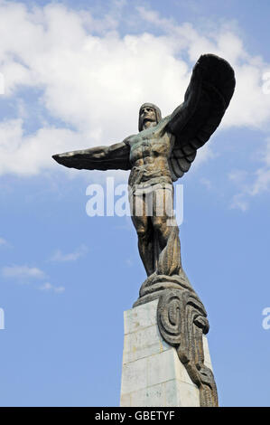 Eroilor Aerului, Monument to the Heroes of the Air, Bucharest, Romania - Stock Photo