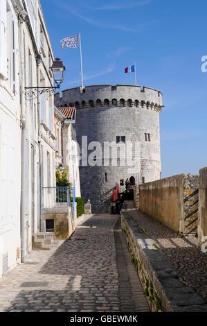 Tour de la Chaine, La Rochelle, Departement Charente-Maritime, Poitou-Charentes, France - Stock Photo