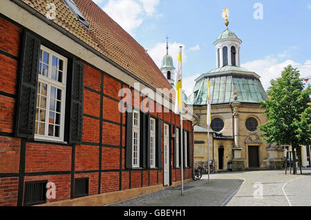 pilgrimage chapel, pilgrimage site, Telgte, Muensterland, North Rhine-Westphalia, Germany / Münsterland - Stock Photo