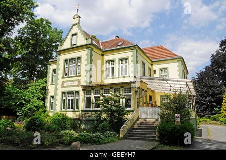 Historic residential building, pilgrimage site, Telgte, Muensterland, North Rhine-Westphalia, Germany / Münsterland - Stock Photo