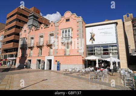 Museo del Teatro Romano, the Roman Theatre Museum, Cartagena, Murcia Region, Spain, Europe - Stock Photo