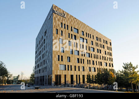 Melia Hotel, Place de l' Europe, European quarter, Kirchberg plateau, Luxembourg city, Luxembourg - Stock Photo