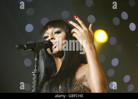 The X Factor Live Tour - London - Stock Photo