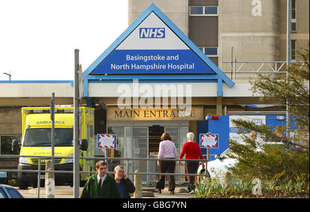 Basingstoke and North Hampshire Hospital - Basingstoke - Stock Photo