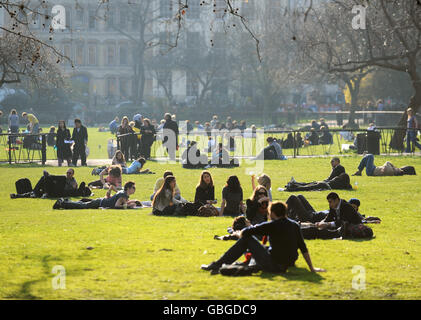 Parks and Open Spaces - Lincoln's Inn Fields - London - Stock Photo