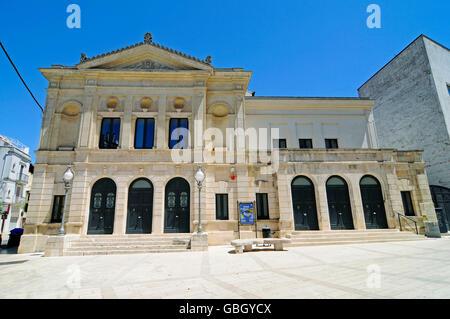theatre, Gioia del Colle, Province of Bari, Puglia, Italy - Stock Photo