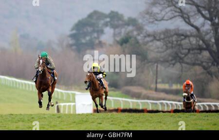 Horse Racing - Taunton Racecourse - Stock Photo