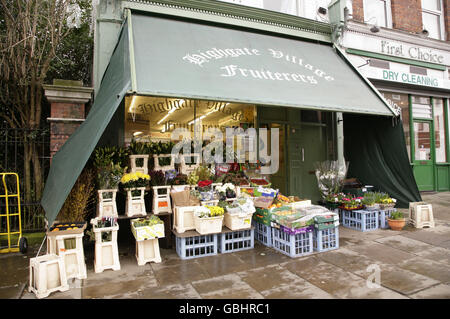 Highgate views - London - Stock Photo