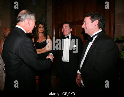 Prince of Wales visits Cheshire - Stock Photo