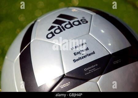 Soccer - UEFA European Championship 2004 - Group B - England v Switzerland. The official matchball