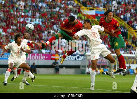 Soccer - UEFA European Championship 2004 - Semi Final - Portugal v Holland