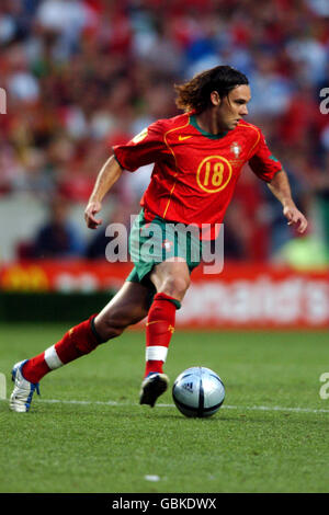 Soccer - UEFA European Championship 2004 - Final - Portugal v Greece. Maniche, Portugal