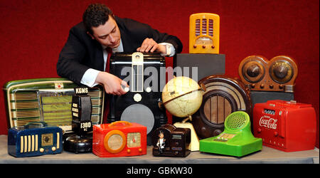 Radio auction - Stock Photo