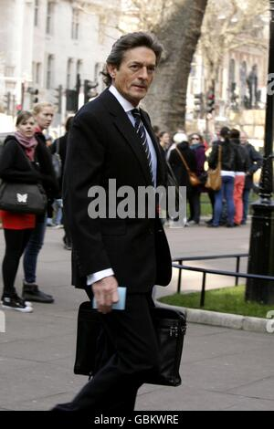 Thanksgiving Service for Paul Scofield - London - Stock Photo
