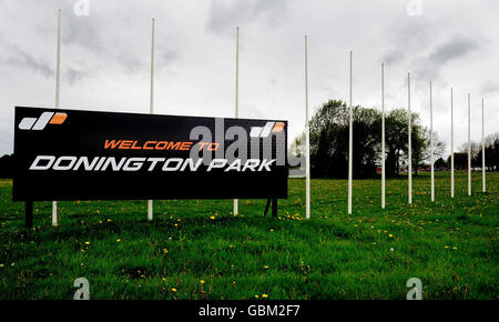 Auto - General Views of Donington Park - Stock Photo