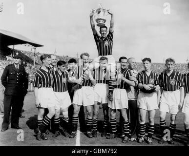 Soccer - FA Cup - Final - Manchester City v Birmingham City - Wembley Stadium - Stock Photo