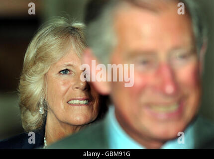 Prince of Wales visits Germany - Stock Photo