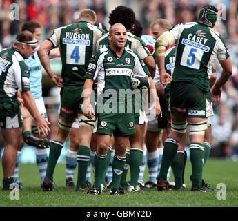 Rugby Union - Guinness Premiership Final - Leicester Tigers v London Irish - Twickenham Stadium - Stock Photo