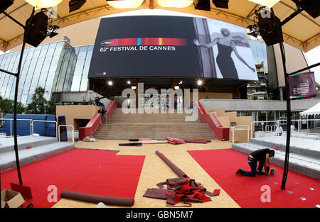 The 62nd Annual Cannes Film Festival - General Atmosphere - France - Stock Photo