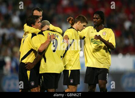 Soccer - UEFA Champions League - Third Qualifying Round - First Leg - Grazer AK v Liverpool - Stock Photo