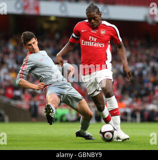 Soccer - FA Youth Cup Final - First Leg - Arsenal v Liverpool - Emirates Stadium - Stock Photo