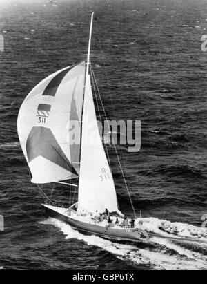 Sailing - Fastnet Race - Admiral's Cup - Stock Photo