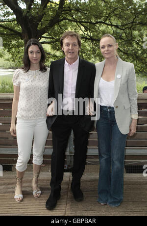 Mary McCartney Daughter Of Paul Attends