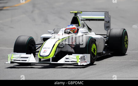 Formula One Motor Racing - Monaco Grand Prix - Circuit de Monaco - Stock Photo