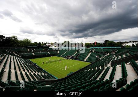 Tennis - Wimbledon Preview - All England Lawn Tennis Club - Stock Photo